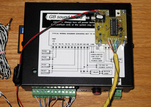 Hyperdyne Labs - Electronics - Proton Pack Sound Board